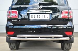 Nissan Patrol 2014- Защита заднего бампера d76 (дуга) d42 (дуга) PATZ-001734